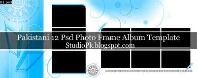 12x36 Wedding Photo Album Psd