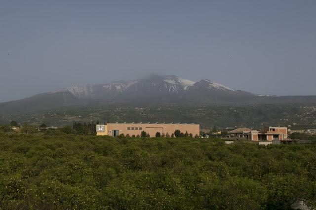 Vista sull'Etna dall'hotel Ramo d'aria
