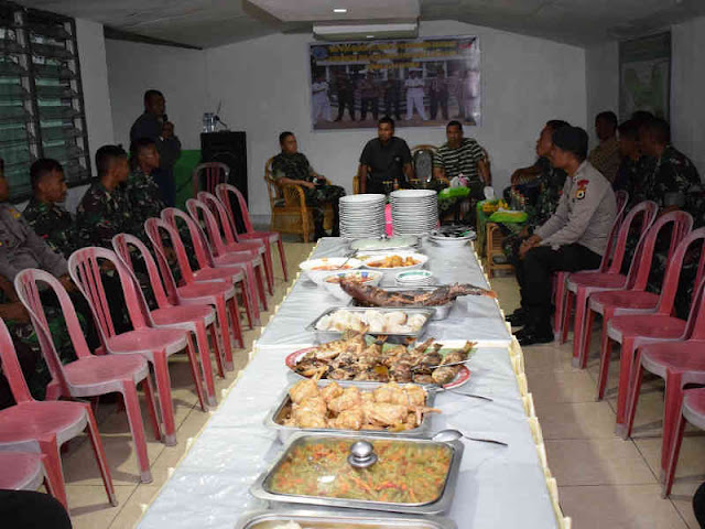 Pererat Hubungan TNI-Polri, Christian Tehuteru Undang Makan Patita di Saparua