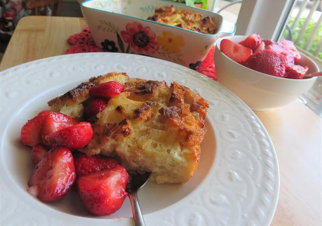 Ginger & Honey Bread & Butter Pudding
