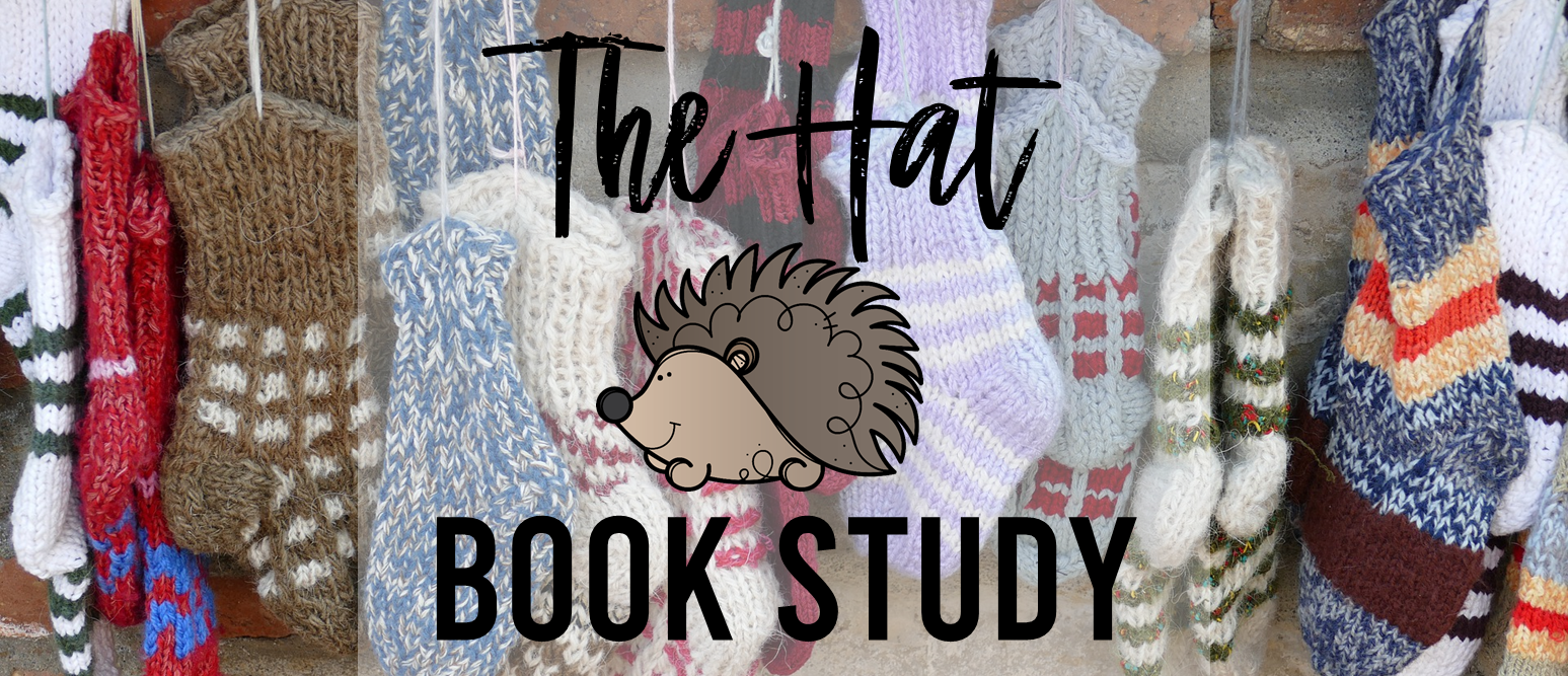 The Hat book study companion activities unit winter K-1