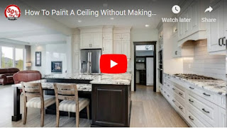 How To Paint A Ceiling Without Making A Mess