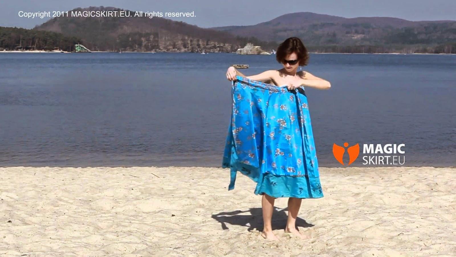 2 Pareos transformables para la playa