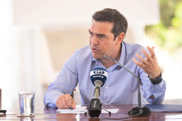 Αλέξης Τσίπρας: Το έλλειμμα εθνικής στρατηγικής, σοβαρός κίνδυνος για τα κυριαρχικά μας δικαιώματα
