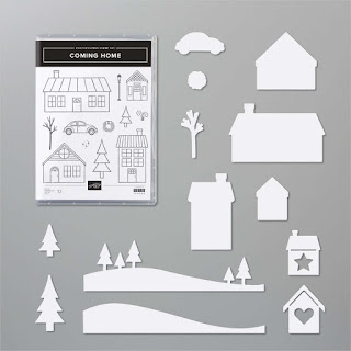 Stampin' Up! Coming Home Stamp Set & Home Together Dies