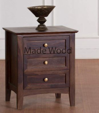 Made Wood Pipercrafts Bedside Table