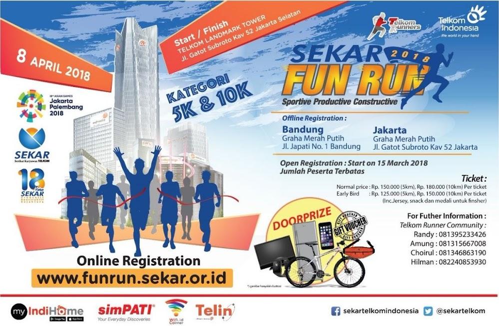Sekar Telkom Fun Run • 2018