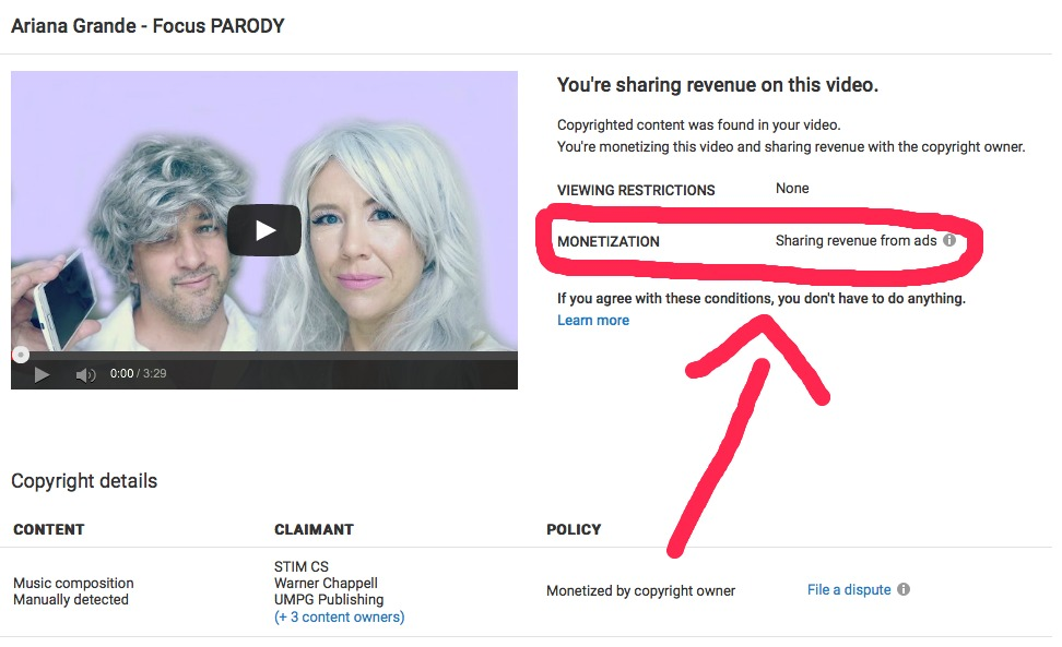 How to remove copyright strikes/ claims on YouTube!
