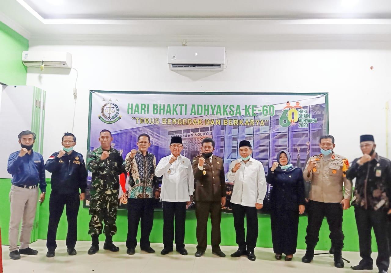 Bupati Inhil, Riau Hadiri Peringatan Hari Bhakti ke-60 Adhyaksa