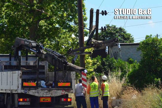 Εκτεταμένη διακοπή ρεύματος από την νύχτα στο Ναύπλιο - Αποκαταστάθηκε το πρωί
