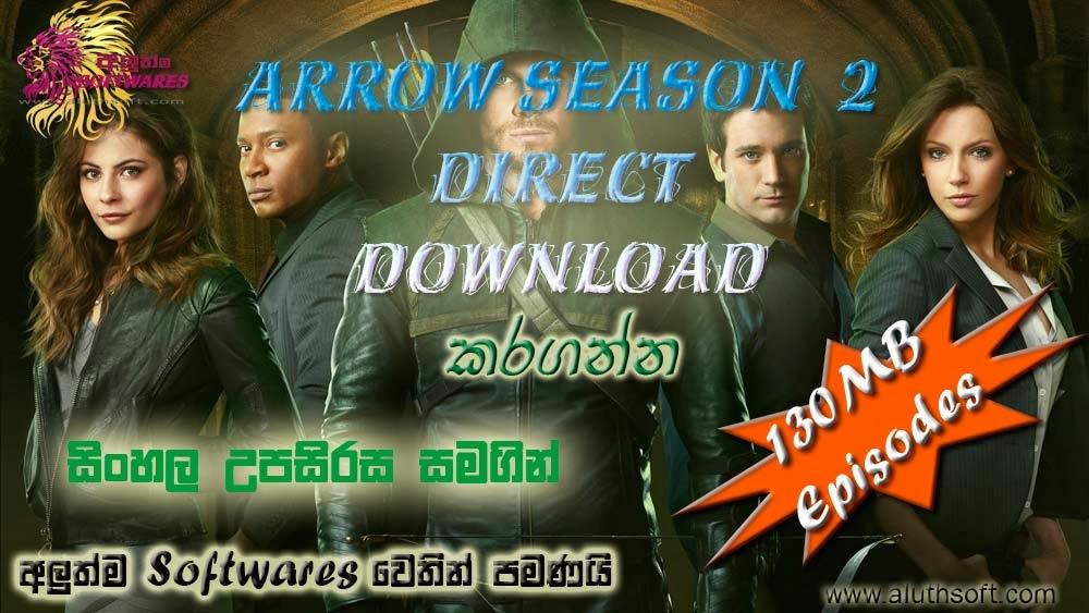Arrow Season 3 Sinhala