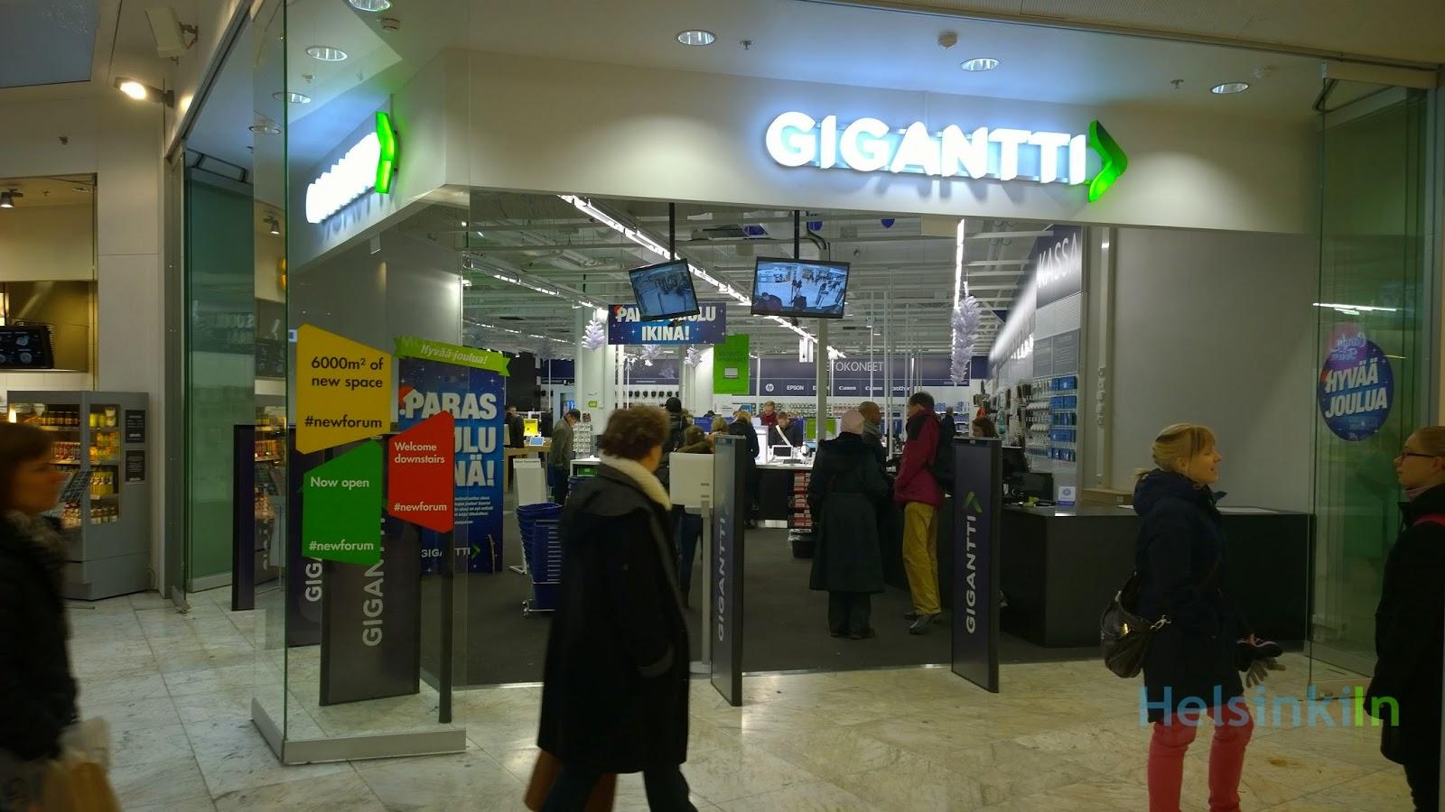Gigantti at Forum