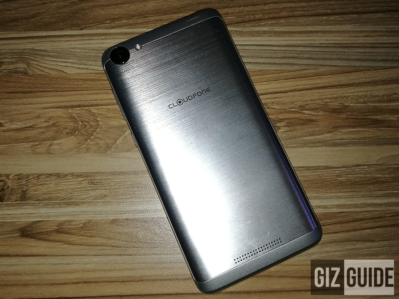 The brushed solid metal casing of the Thrill Power!