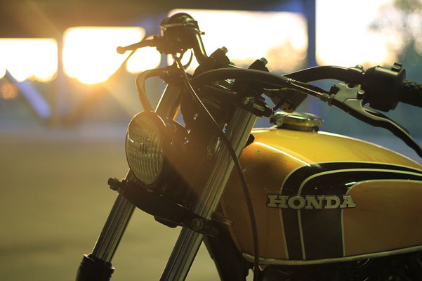 Honda FT500 1990 By Hombrese Bikes Hell Kustom