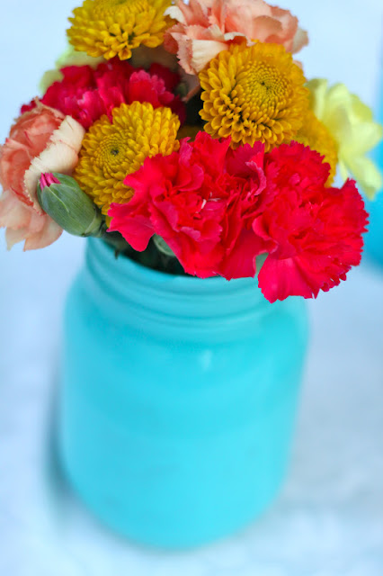 Do it yourself divas diy mason jar flower arrangements