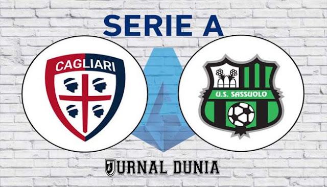 Prediksi Cagliari vs Sassuolo  , Minggu 31 Januari 2021 Pukul 21.00 WIB @ beIN Sports