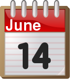 June 14 #