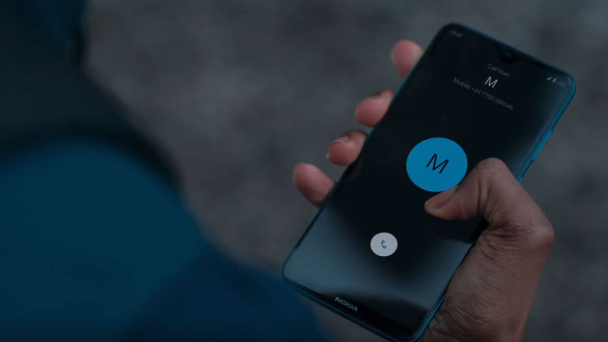 The Nokia phone is the official phone of the new James Bond movie