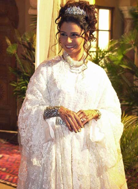 Jade vestida de noiva em O Clone