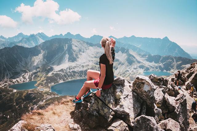 Na szlaku w Tatrach Wysokich