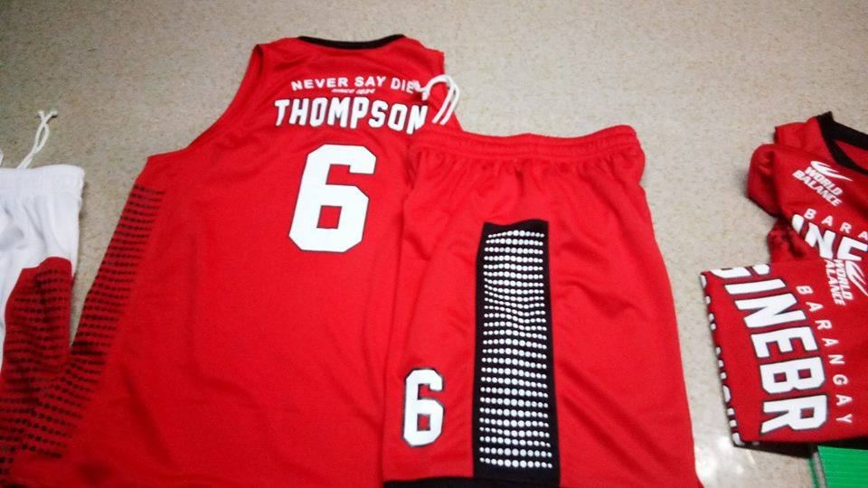 c0a66d3c7 PBA Jersey Store  Thompson  6 Ginebra Jersey For Sale  Cash on ...