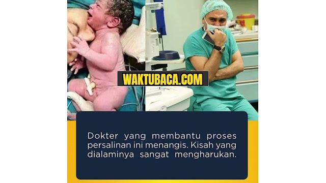 Kisah dokter menangis saat proses persalinan ibu dan anak