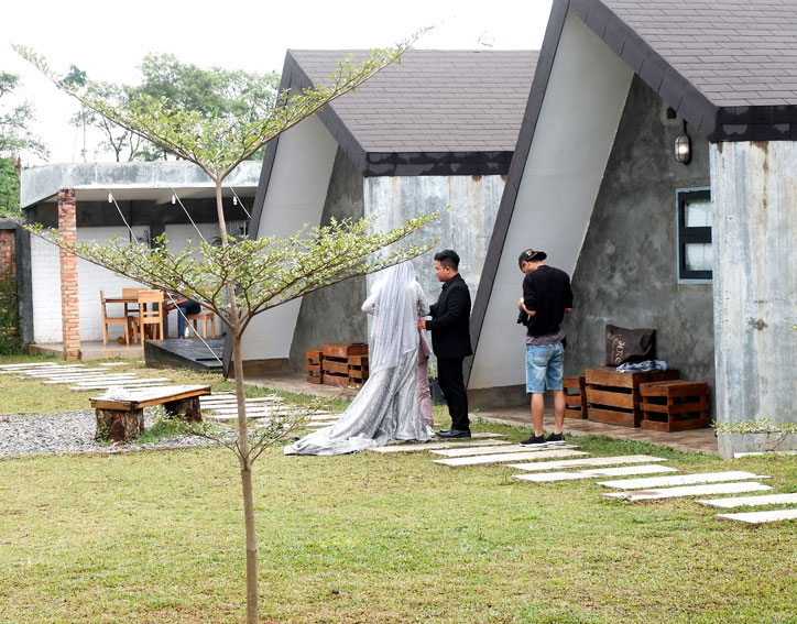 spot foto D'Cabin Pagar Alam