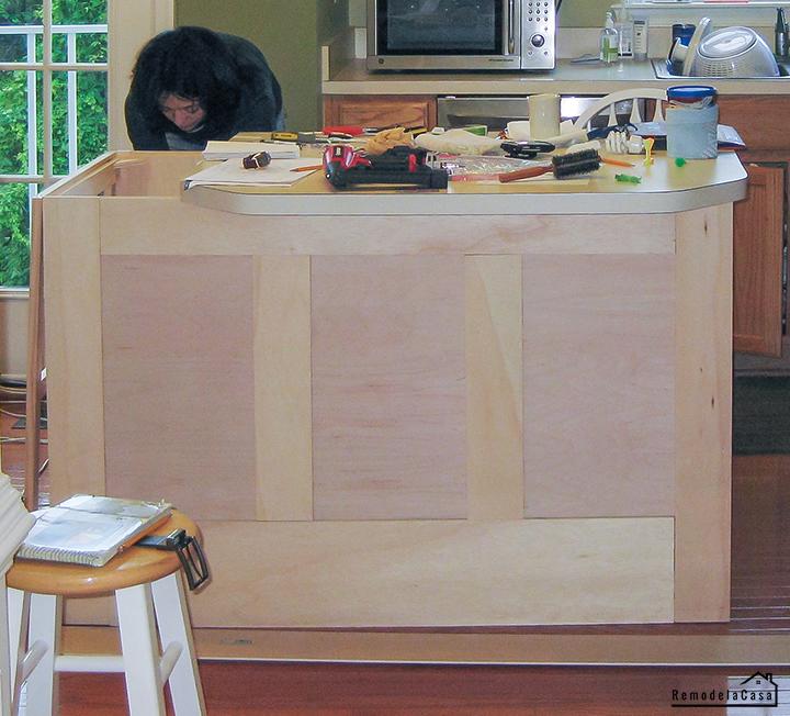 kitchen island makeover - Cristina Garay