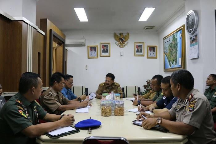 Pemprov Lampung Adakan Rapat Persiapan Kunjungan Kerja OASE Kabinet Kerja