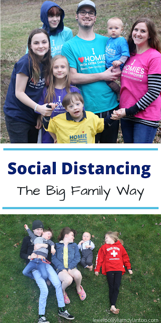 Social Distancing the Big Family Way