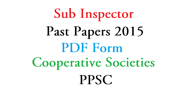 Sub Inspector 2019