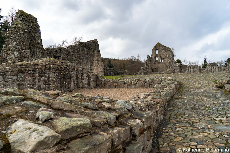 Kildrummy Castle Scottish Highlands Road Trip Itinerary