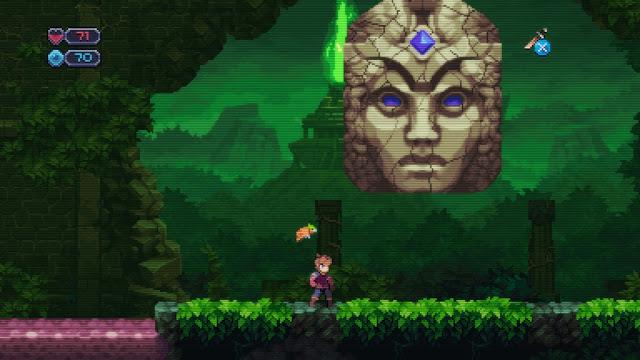 Chasm - Jungle boss