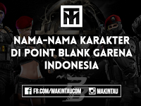 Nama-nama Karakter di Point Blank Online