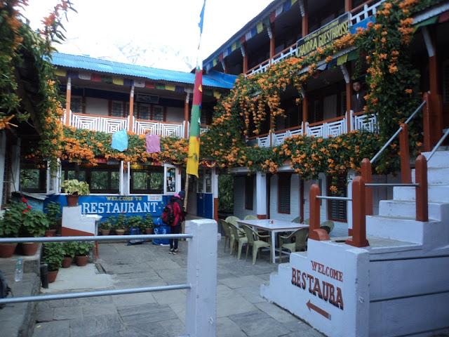 Annapurna Base Camp Trekking, Tikhedhunga