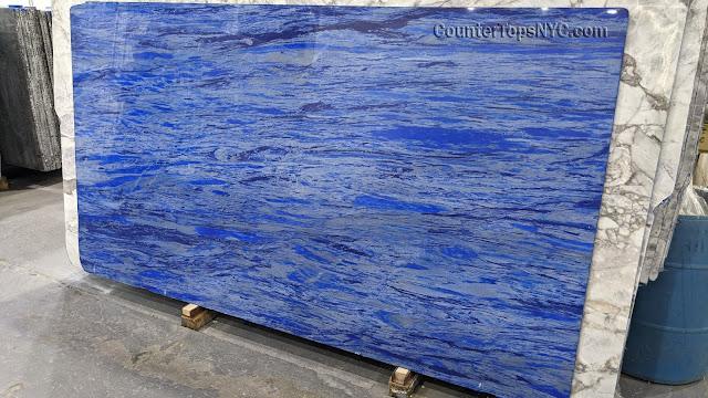 Blue Nana Natural Stone Blue Marble Slab