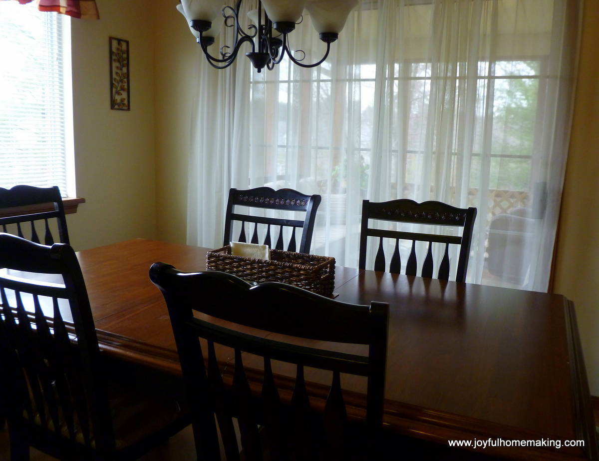 Protecting Your Dining Table Chairs - Joyful Homemaking