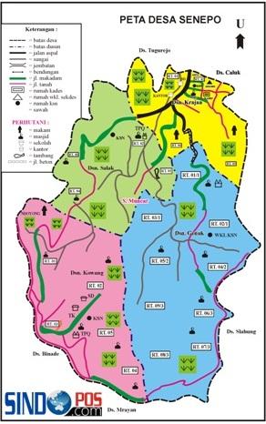 Profil Desa & Kelurahan, Desa Senepo Kecamatan Slahung Kabupaten Ponorogo