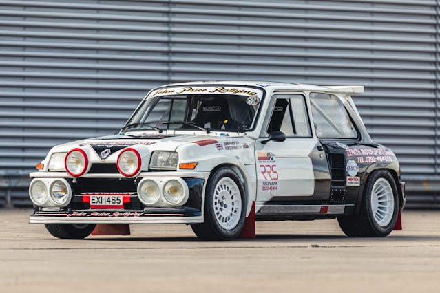 John Price Renault 5 Turbo Rally Car for sale