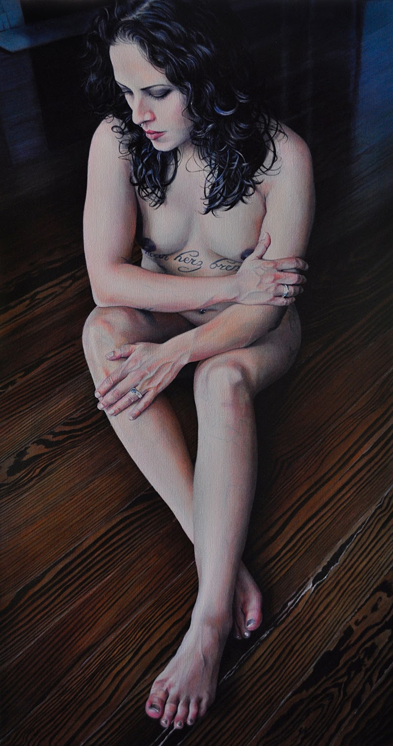 Figurative Paintings by Victoria Selbach.