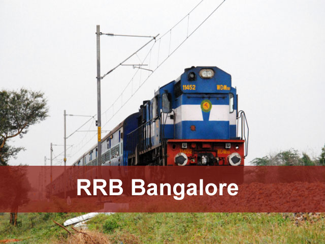 RRB Bangalore 2018 ALP, Tech, Group D Application Status Exam Date
