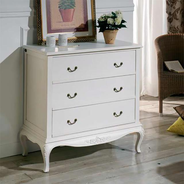 Muebles de dormitorio c modas y sinfonieres elegancia y - Muebles comodas clasicas ...
