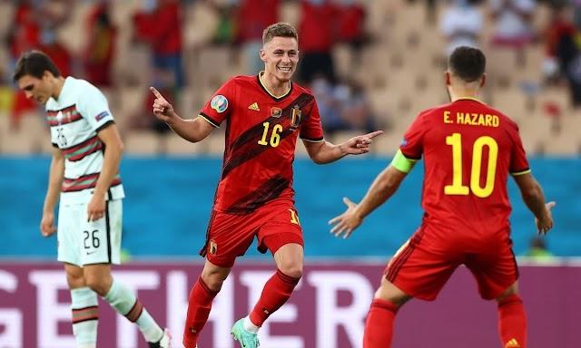 """Βέλγιο-Πορτογαλία 1-0: Η """"οβίδα"""" του Τοργκάν Αζάρ τους """"έστειλε"""" στους """"8"""" !"""