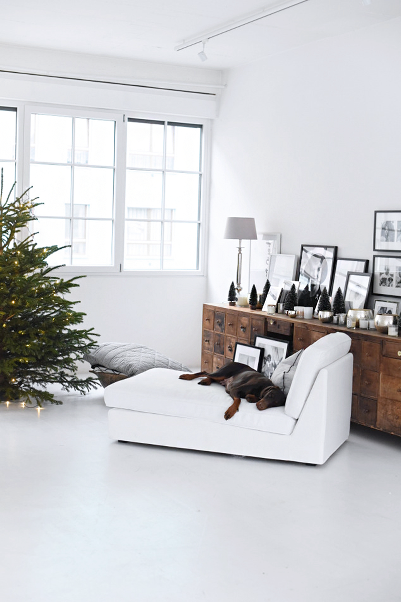 A FAMILY LOFT WITH CHRISTMAS DECOR / UN LOFT FAMILIAR DECORADO EN NAVIDAD