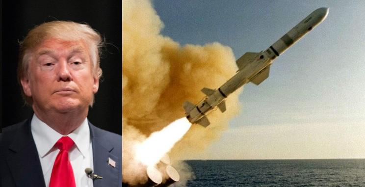 Mísseis estão à caminho da Síria, diz Donald Trump