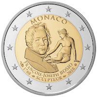 Monaco 2€ kolikko 2018
