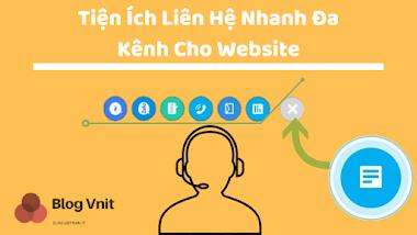 Tiện Ích Liên Hệ Nhanh Đa Kênh Cho Website Chuyên Nghiệp