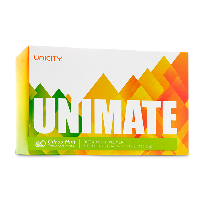 Unimate Citrus Mint - Unicity - hỗ trợ chức năng nhận thức và tâm trạng tốt