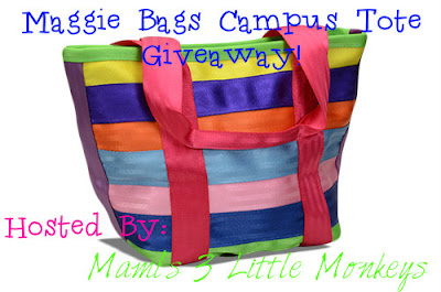 Enter the Maggie Bags Campus Tote Giveaway by 8/17 for your chance to win.