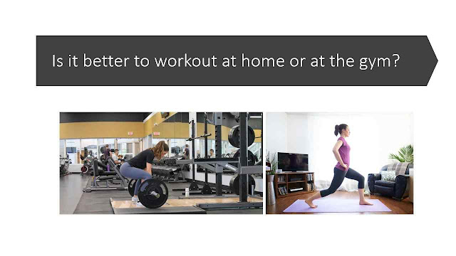 Is it better to workout at home or at the gym? your best guide